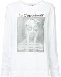 Tu Es Mon Tresor - Le Conscience Printed Top - Lyst