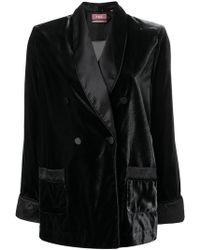 F.R.S For Restless Sleepers - Double Breasted Blazer - Lyst
