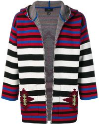 Alanui - -style Stripes Hooded Cardigan - Lyst