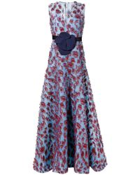 Delpozo - Verziertes Abendkleid - Lyst