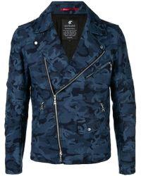 Loveless - Camouflage Zipped Jacket - Lyst