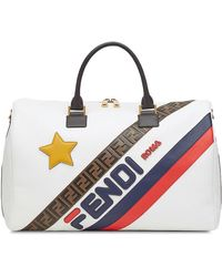 Hot Fendi - Mania Panelled Travel Bag - Lyst 1c04f3b132f32