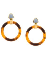 Lizzie Fortunato - Sunset Hoop Earrings - Lyst
