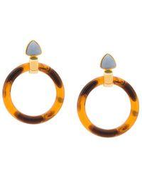 Lizzie Fortunato - Sunset Hoop Earrings - Lyst