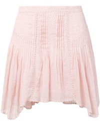 Étoile Isabel Marant - Pleated Mini Skirt - Lyst