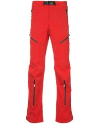 99% Is - Loose Fit Zipped Trousers - Lyst