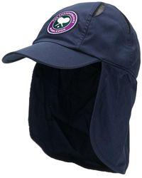6275b24adea Lyst - Casquette à patch logo Fendi pour homme en coloris Bleu