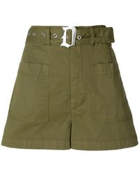 Dondup - Belted Fitted Shorts - Lyst