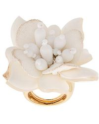 Oscar de la Renta - Flower Field Ring - Lyst