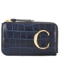 Chloé C 財布 - マルチカラー