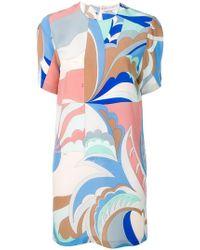 Emilio Pucci - Acapulco Print Silk Dress - Lyst