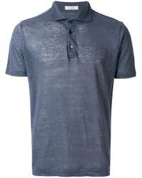 Cruciani - Shortsleeved Polo Shirt - Lyst