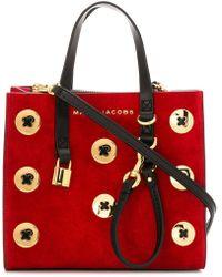 Marc Jacobs - Buttons Detail Crossbody Bag - Lyst