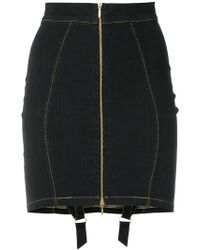 Murmur - Denim Candy Skirt - Lyst