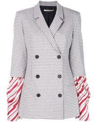Hellessy - Striped Sleeves Jacket - Lyst