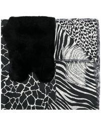Pierre Louis Mascia - Animal Print Scarf - Lyst