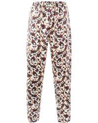 Edward Crutchley - Floral Print Trousers - Lyst