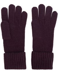 N.Peal Cashmere - Ribbed Gloves - Lyst