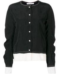 Rejina Pyo - Contrast Stitching Shirt - Lyst