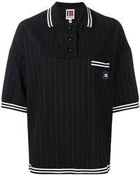 I'm Isola Marras - Pinstripe Polo Shirt - Lyst