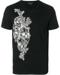 Alexander McQueen - Skull Print T-shirt - Lyst