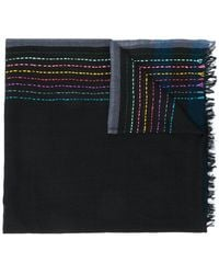 Paul Smith Black Label - Striped Scarf - Lyst