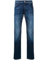 Jacob Cohen - Faded Effect Jeans - Lyst