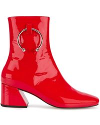 Dorateymur - Red Patent Leather Nizip 60 Boots - Lyst