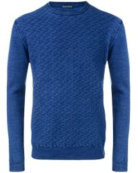 Jacob Cohen - Textured-knit Sweater - Lyst