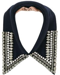 N°21 - Embellished Collar - Lyst