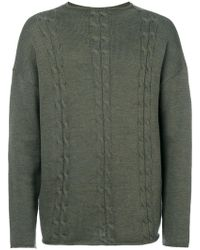 Societe Anonyme - Cable Detail Big Braides Jumper - Lyst