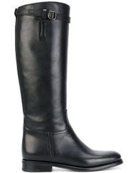 Church's - Knee High Buckle Boots - Lyst