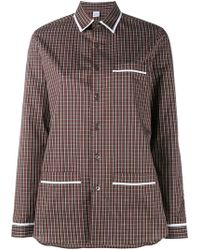 Marie Marot - 'kate' Checked Shirt - Lyst