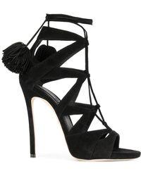 DSquared² - Pom Pomp Detail Sandals - Lyst