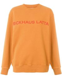 Eckhaus Latta - Printed Sweatshirt - Lyst