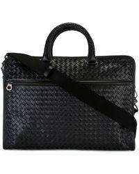 Bottega Veneta - - Woven Business Bag - Men - Calf Leather - One Size - Lyst