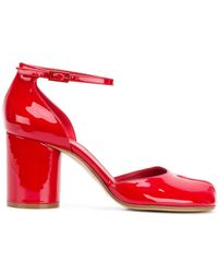 Maison Margiela - Tabi Mary Jane Sandals - Lyst