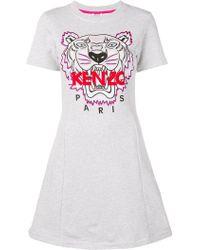KENZO - Tiger T-shirt Dress - Lyst