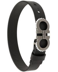 Ferragamo - Double Gancini Bracelet - Lyst