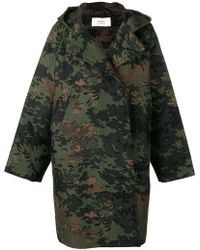 Ports 1961 - Camouflage Print Coat - Lyst