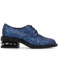 ba536b9a0d05 Nicholas Kirkwood - Suzi Derby Shoes - Lyst