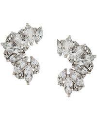Elise Dray - Topaz & Diamond Earrings - Lyst