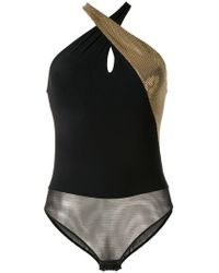 Ralph Lauren Collection - Paneled One-piece Swimsuit - Lyst