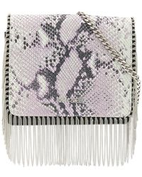 Just Cavalli - Snake Effect Crossbody Bag - Lyst