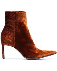 Haider AckermannVelvet Celest Chunky Boots