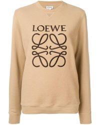 Loewe - Logo Sweatshirt - Lyst
