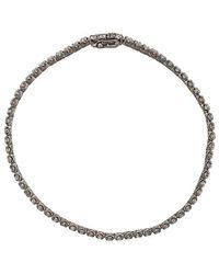 Eva Fehren - Diamond Bracelet - Lyst