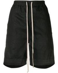 Rick Owens Drkshdw - High Waisted Track Shorts - Lyst