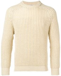 Our Legacy - Crew Neck Chunky Sweater - Lyst