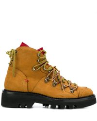 DSquared² - Lug Sole Hiking Boots - Lyst